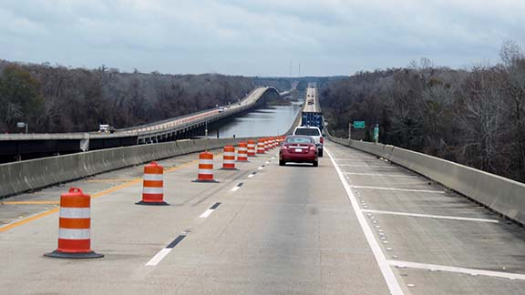 I65 road construction small