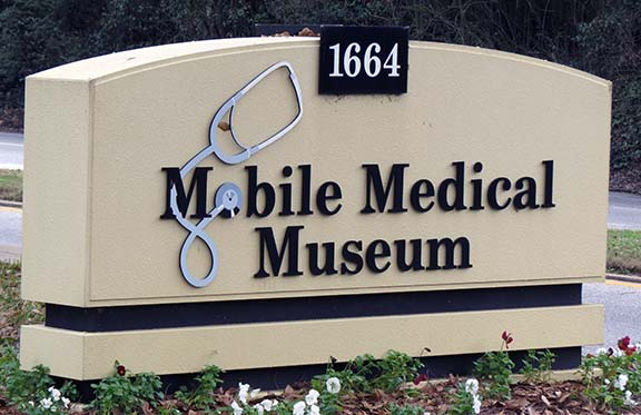 Medical Museum sign small