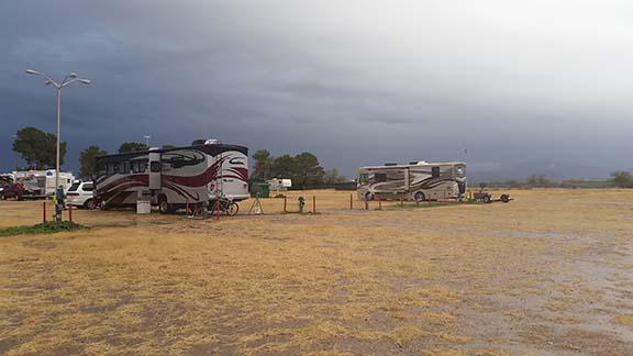 Rainy day fairgrounds small