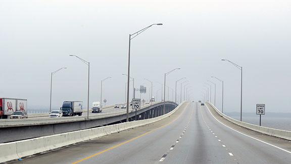 Foggy bridge small