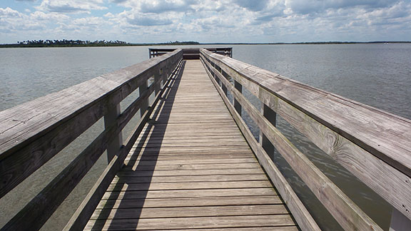 Fishing pier small
