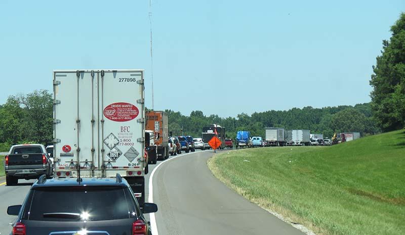 Alabama traffic jam