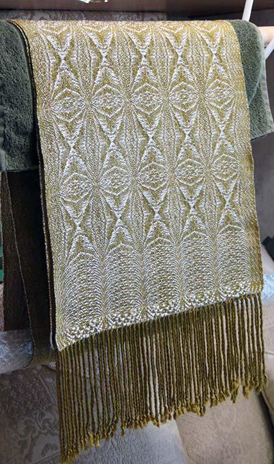 Finished shawl Gita