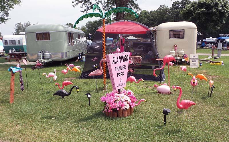 Flamingo trailer park